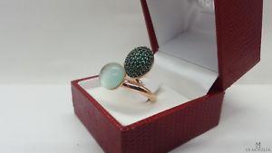 【送料無料】ブレスレット シルバーリンググリーンライトグリーンanello in argento 925 ramato con quarzi e madre perla color verde e verde chiaro