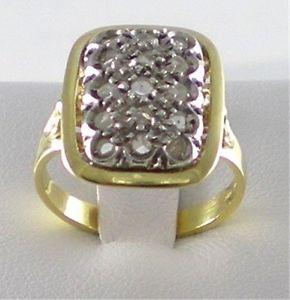 【送料無料】ブレスレット ゴールドシルバーロゼットリングanello oro 18kt argento e rosette