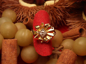 【送料無料】ブレスレット ktanello con dimante in oro giallo e bianco 18 kt 750