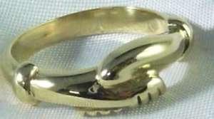 【送料無料】ブレスレット リングサンタゴールドイエローゴールドリタリングビッグリタダanello santa rita da cascia in oro 18 k 750 yellow gold saint rita ring big