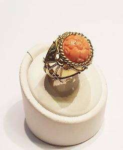 【送料無料】ブレスレット イエローゴールドピンクサンゴリングanello in oro giallo 18 kt e corallo rosa