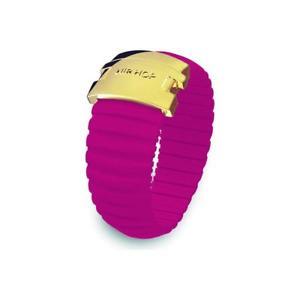 【送料無料】ブレスレット リングヒップホップアイコンシリコンスチールサイズanello donna hip hop icon hj0100 silicone fuscia acciaio misura s