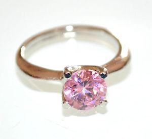 【送料無料】ブレスレット リングラインストーンシルバーピンククリスタルサンバレンチノanello donna argento strass cristallo rosa fedina regalo san valentino e30