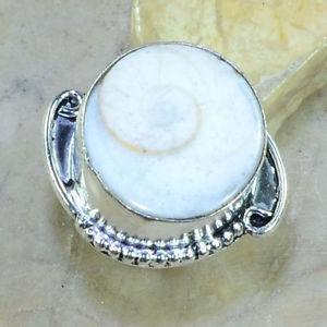 【送料無料】ブレスレット シバシェルシルバーリングanello con shiva shell e argento 925, mis 16,5