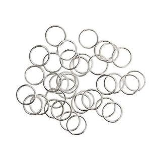 【送料無料】ブレスレット サルトセット×リングkurtzy 700pc aperto anelli di salto in metallo a colore argento 7mm set x3s