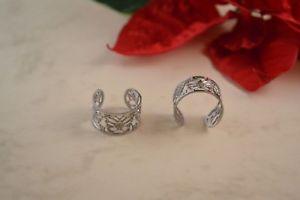 【送料無料】ブレスレット ステンレススチールシルバーステンレススチールテープテープリングリングリングanello in acciaio inossidabile farfalle nastro anello nastro anello in acciaio inossi