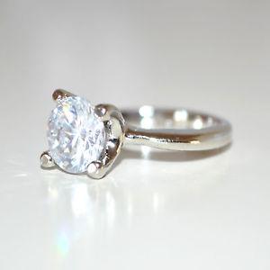 【送料無料】ブレスレット リングシルバークリスタルラインストーンサンバレンチノanello fedina donna argento strass cristallo fedina regalo san valentino e30