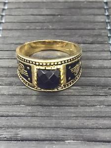 【送料無料】ブレスレット ゴールドリングリングトルコオスマンスルタンブラスオスマンリングuomini tugra gold ring anello ottomano turchi sultano ottoman anello in ottone