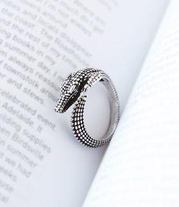 【送料無料】ブレスレット クロコダイルクロコダイルリングワニcoccodrillo anello coccodrillo coccodrillo schnappi