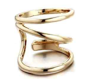 【送料無料】ブレスレット ゴールドリングリングリングジョイントリングジョイントリングリングgold farbener anello grande anello 3 volte anello giunto anello giunto anello anello pi vo