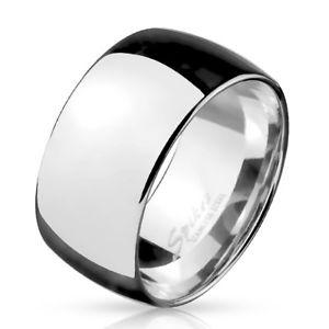 【送料無料】ブレスレット ステンレススチールリングリングシルバーanello in acciaio inossidabile dita anello fede nuziale anello di fidanzamento argento