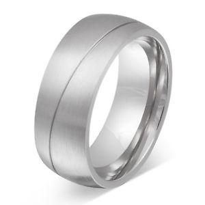 【送料無料】ブレスレット ステンレスパートナーリングuomo fedina partner anello in acciaio inox incl incisione gratis 139h