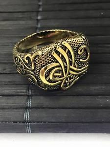 【送料無料】ブレスレット トルコオスマンスルタンリングuomo antico oro anello gli ottomani turco sultano ottone