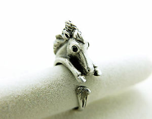 【送料無料】ブレスレット リングcavallo anello anello con animali horse