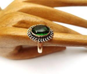 【送料無料】ブレスレット ビンテージシルバーリングvintage anello argento con zirkonit, argentatiossidati, tg 57 nuovo 517