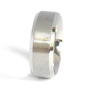 【送料無料】ブレスレット ステンレススチールシルバーリングテープリングリングマンリングanello in acciaio inox fedina anello argento donna anello nastro anello uomo misura 5172