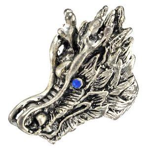 【送料無料】ブレスレット ドラゴンヘッドバイカーtesta drago biker skull