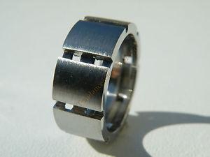 【送料無料】ブレスレット アライアンスbague alliance type ecrou argent 100 pur acier inoxydable 8 mm