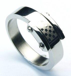 【送料無料】ブレスレット ステンレススチールカーボンリングanelli in acciaio inox carbon sr112