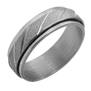 【送料無料】ブレスレット シルバーリングリングステンレススチールダブルリングanello dito anello prima dargento da donna in acciaio inox 17 18 19 20 21 22 mm doppio anello luc