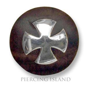 【送料無料】ブレスレット リングリングシルバーデザインanello in legno croce di ferro legno anello design argento tg 57 ar032