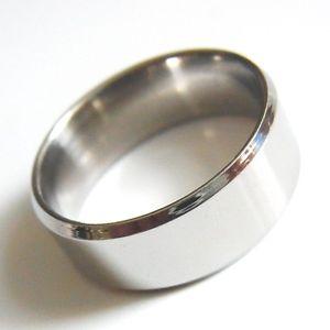 【送料無料】ブレスレット シルバーステンレススチールfedina da donna e da uomo anello di fidanzamento argento in acciaio inox 57 68