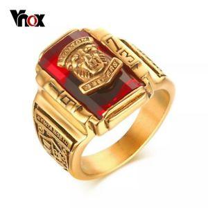 【送料無料】ブレスレット リングドレオンanillos de hombre regalo ring men de acero inoxidable leon regalo