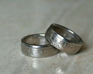【送料無料】ブレスレット シリングリングサイズuno shilling coin anello dimensione g