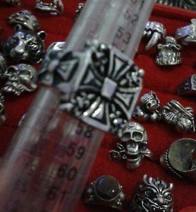 【送料無料】ブレスレット クロスマルタスチールサイズリングスカルテンプルリングanello croce malta acciaio misura 15 trendy ring skull cavalieri templari