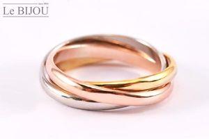 【送料無料】ブレスレット サイズle bijou 3er anelli in tricolour, div dimensioni