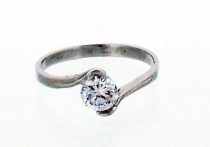 【送料無料】ブレスレット ステンレスサイズスチールクロスクローセットacciaio inox anello di fidanzamento con crossover claw set cz in 8 taglie r47