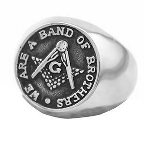 【送料無料】ブレスレット リングマンステンレステンプルシールリングリングmassonico anello uomo in acciaio inox cavalieri templari ring masonic anello con sigillo