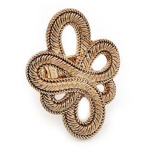 【送料無料】ブレスレット ゴールドノードセルティックリングフレックスgrande bruciare gold nodo celtica anello flex
