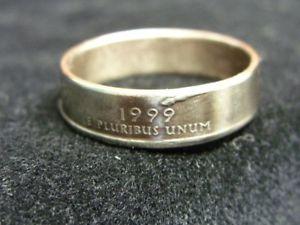 【送料無料】ブレスレット ハンドメイドhandmade us coin anellodelaware, 1999, dimensioni r 12 us 9, r952