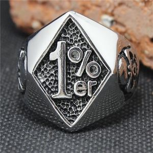 【送料無料】ブレスレット リングバイカーaa020 anillo ring 1 motero biker acero inoxidable
