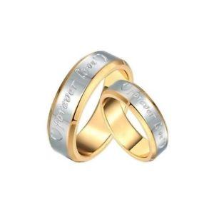 【送料無料】ブレスレット ユニオンゴールデンリングゴールドステンレススチールunione anello dorato oro sottile acciaio inossidabile matrimonio forever amare