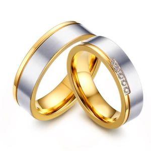 【送料無料】ブレスレット ゲームゴールデンリングゴールドシンジルコニウムgioco unione anello dorato oro sottile ossido zirconio matrimonio fidanzamento