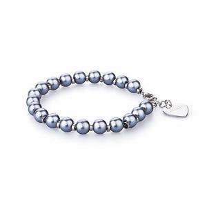 【送料無料】ブレスレット ハッピーカフbracciale donna per charms con perle nere sagapo happy shac5 0165