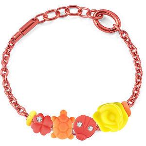 上品 【送料無料】ブレスレット ブレスレットbracciale morellato drops colours sabz156 allum rosso 4 charms list 35,00, WakWak 0b8a4269