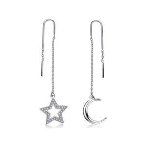 【送料無料】ブレスレット イヤリングムーンスターsagapo orecchini moon snm26 sagap luna stelle