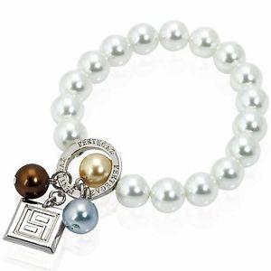 【送料無料】ブレスレット カフコレクションmomparler1870 bracciale grace, collezione pertegaz, con perle naturali e f2n
