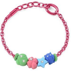 【送料無料】ブレスレット ブレスレットコレクションピンクアルミbracciale morellato collezione drops colours artsabz166 alluminio rosa 4 charm