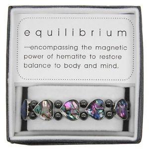 【送料無料】ブレスレット パウアシェルハートブレスレットバグpaua shell heart bracelet equilibrium range by jd bug w2t