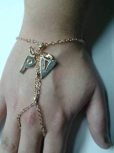 【送料無料】ブレスレット ブレスレットカスタムbaciamano personalizzato con con 2 personalizzato tue in iniziali big bacia mano bracelet in, タダスポーツ:30858c99 --- ww.thecollagist.com