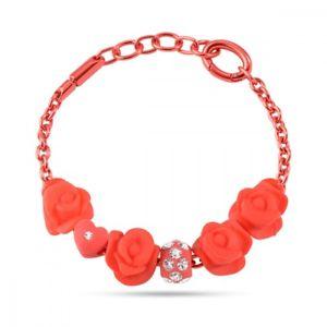 【送料無料】ブレスレット ブレスレットコレクションbracciale morellato collezione colours rosso con 6 drops sabz211
