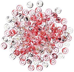 【送料無料】ブレスレット ハンプトンビードチューブアクリルカラーhampton art roseglass bead tubes, in acrilico, multicolore l7v