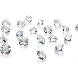 【送料無料】ブレスレット テーブル1000 cristalli trasparenti 65mm da spargere sui tavoli decorazioni matrimonio