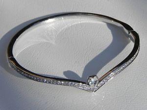 【送料無料】ブレスレット crystal カフスワロフスキークリスタルクリスタル bracciale raisa cristalli, raisa lega di zinco; swarovski cristalli, crystal, 下條村:0d2b56c2 --- ww.thecollagist.com