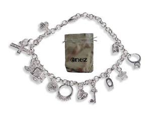 【送料無料】ブレスレット スターリングシルバーメッキカフbracciale da donna in argento sterling 925 enez placcati lunghezza 20 cm g8h