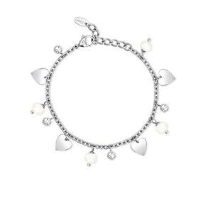 【送料無料】ブレスレット スチールブレスレットコレクションプレッピー2 jewels 231953 bracciale in acciaio 316l collezione preppy